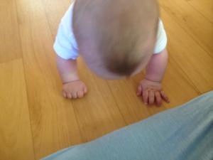 Markolóreflex fennmaradása csecsemőkorban